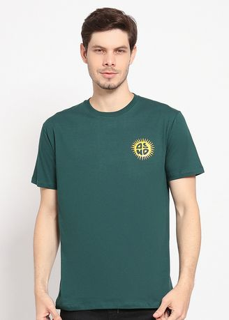 Green color T-Shirts and Polos . DIMUS -