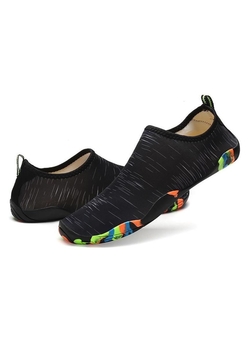 Black color Sports Shoes . Summer Beach Shoes Sports Outdoors Water Shoes Breathable Shoes -