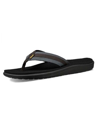 4a8800065 Teva Sandal Men sTeva Voya Canvas Flip-1019051-DKSW(DARK SHADOW ...