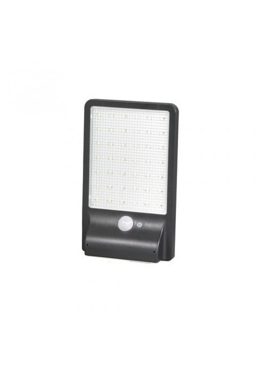 Black color Home Decor . HBT-1611 - 500 Lumens Motion Sensor 42 LED Solar Lamp Light Black -