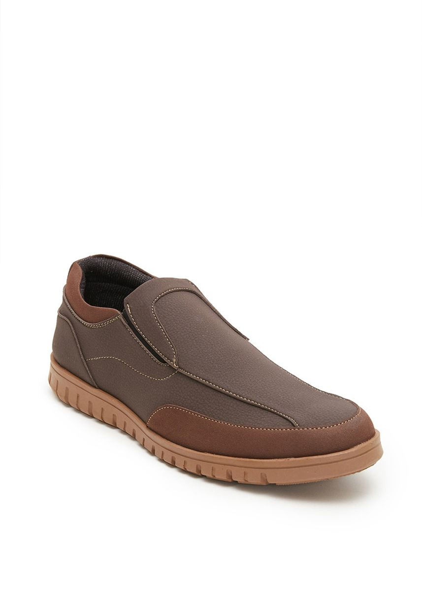 Brown color Casual Shoes . PAULMAY Sepatu Kasual Pria Modena 03 -