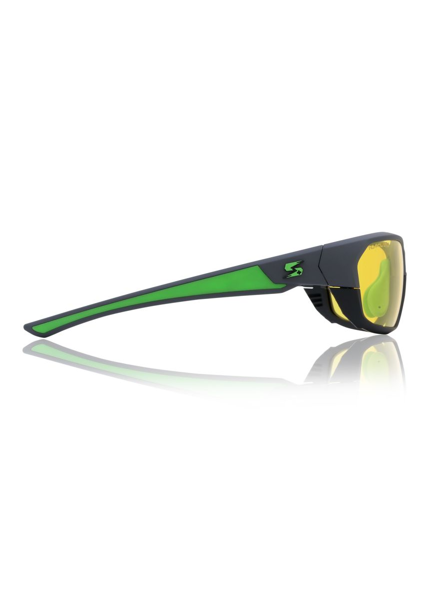 Green color Sunglasses . Sorrento Phyton Unisex Eyewear -