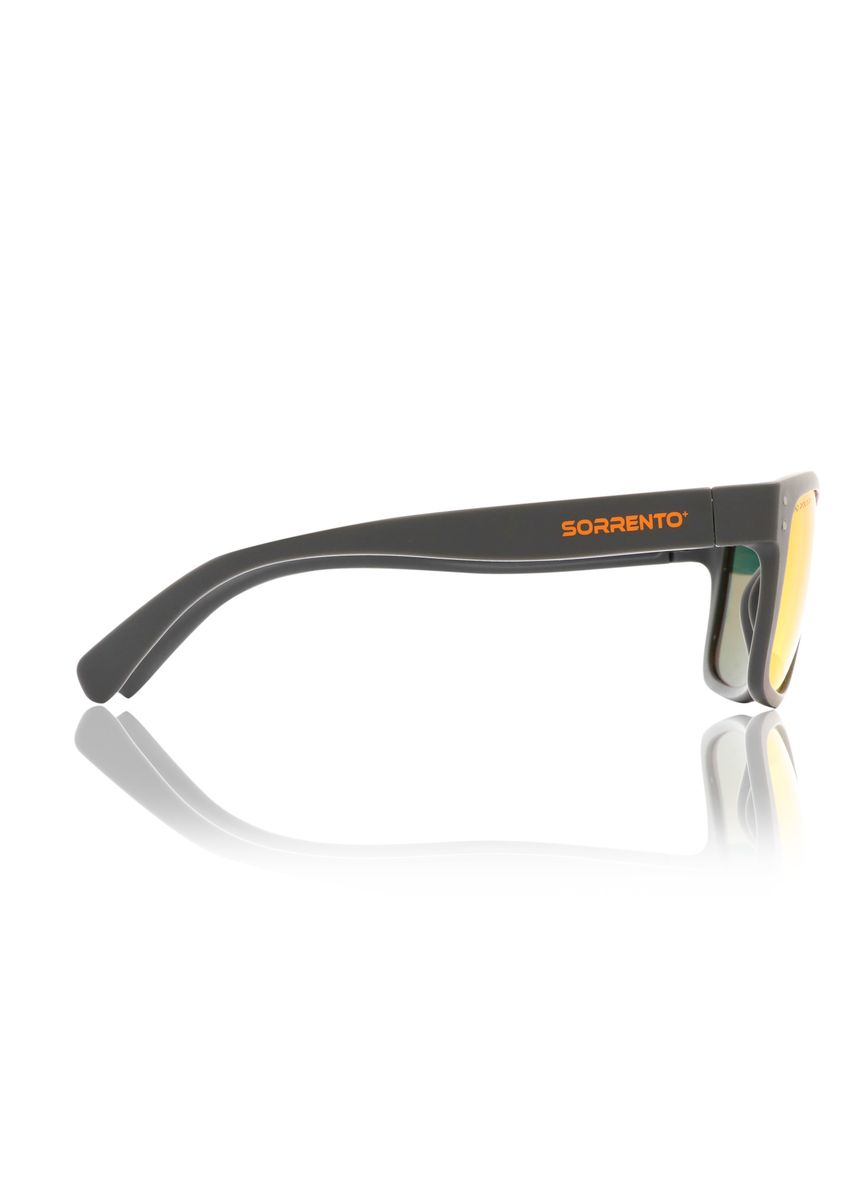 Orange color Sunglasses . Sorrento Waves Unisex Eyewear -