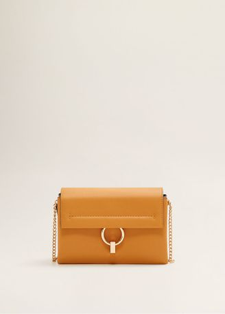Sling Bags . MANGO Ring Flap Bag -