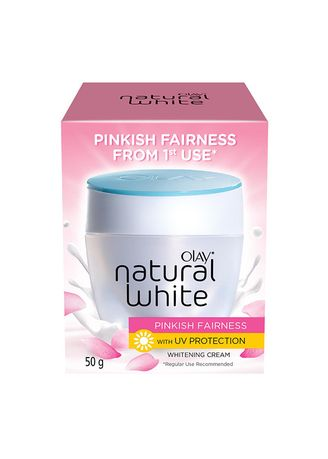 No Color color Serum & Treatment . Olay Natural White Pinkish Fairness w/ UV Whitening Cream 50g -