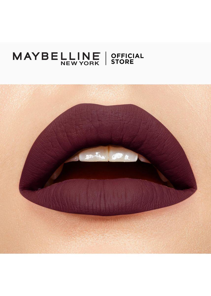 Violet color Lips . SuperStay Matte Ink City Edition by Maybelline(Testy) -