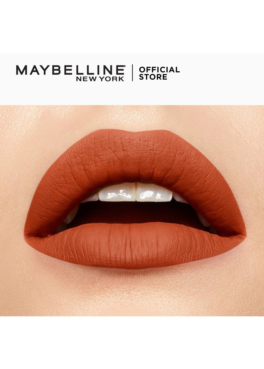 Tan color Lips . SuperStay Matte Ink City Edition by Maybelline(Globetrotter) -