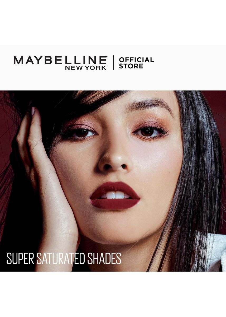 Red color Lips . SuperStay Matte Ink City Edition by Maybelline(Assertive) -