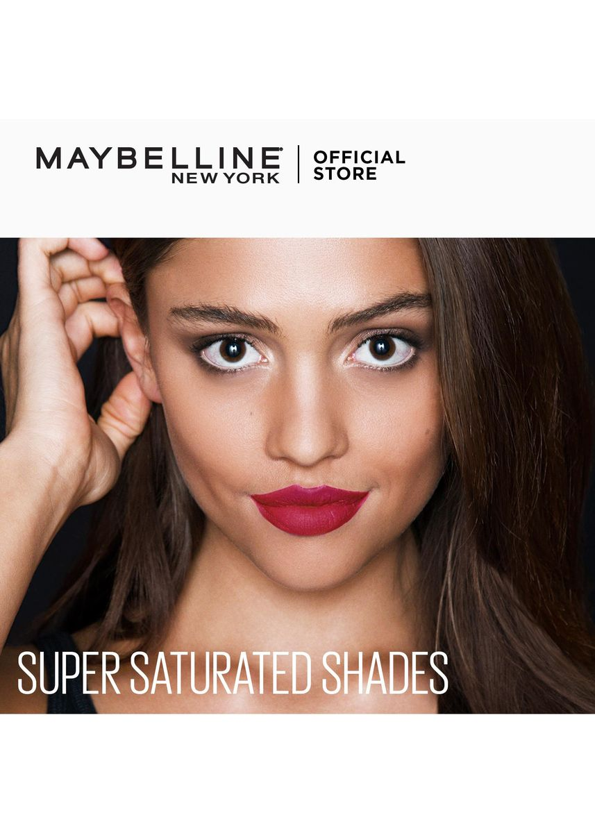 Pink color Lips . SuperStay Matte Ink Unnude Liquid Lipstick [16HR Waterproof] by Maybelline(Driver) -