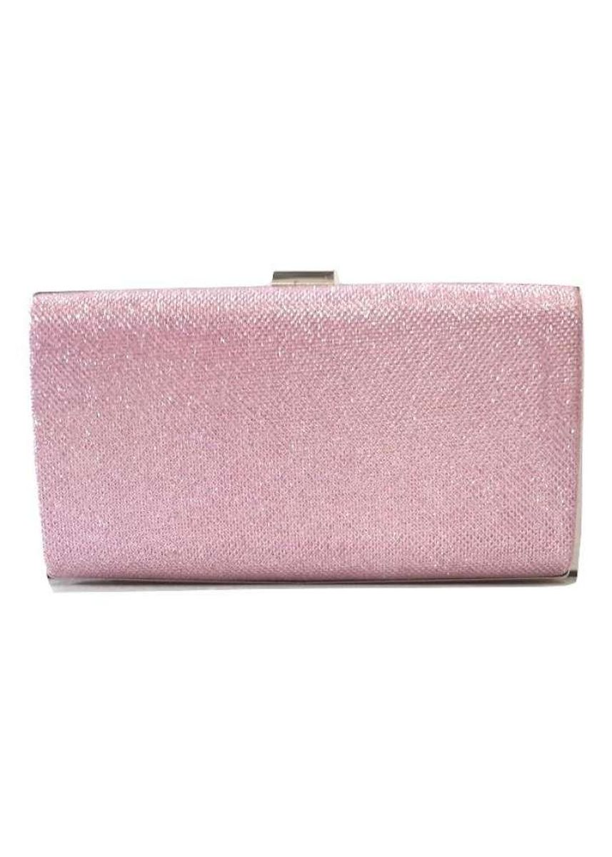 Pink color Wallets and Clutches . ZeeBee Sparkling Clutch Bag -