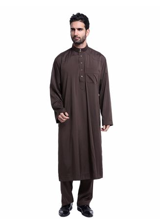 . Men's Muslim Wear Calf Length and with Pants -