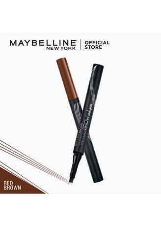 Eyes . Tattoo Brow Ink Pen - [Long-Lasting Brows] by Maybelline(Red Brown) -