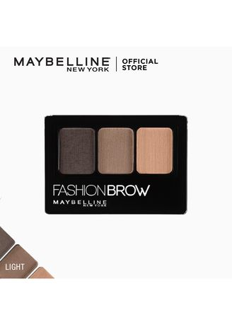 . Maybelline Fashion Brow Palette (Light Brown) -