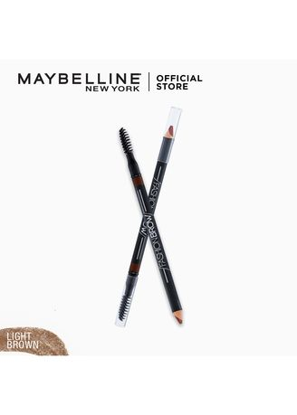 Eyes . 2-IN-1 Pencil - Light Brown [Shaping] by Maybelline Fashion Brow -