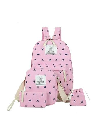 Pink color Backpacks . tas ransel wanita amsterdam  -