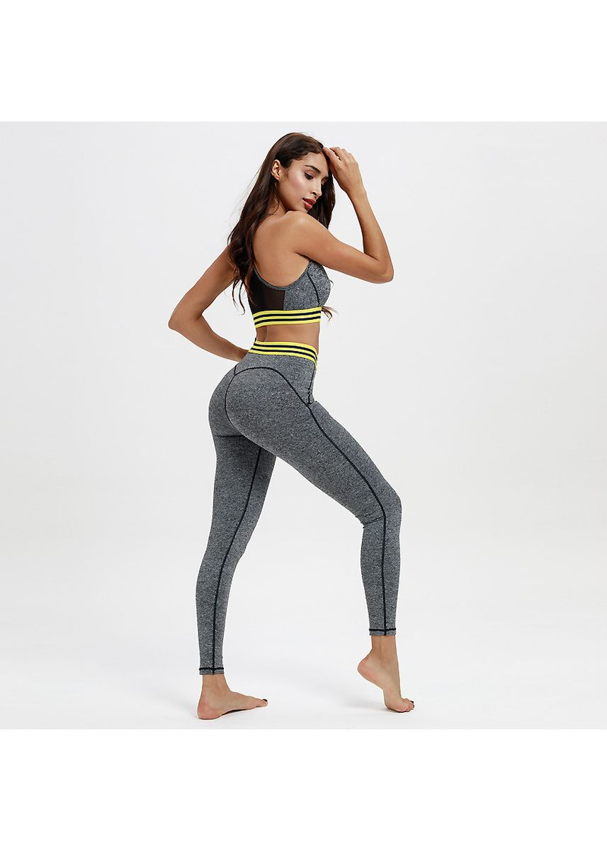 Grey color Sports Wear . New Type Of Cultivate One'S Morality Into Joining Yoga Suit -