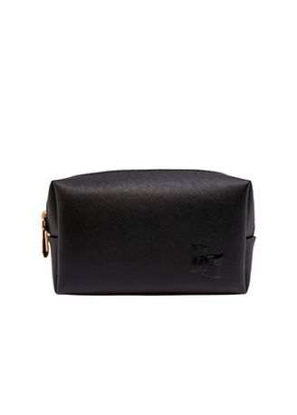 Wallets and Clutches . Pouch Cosmetik Bahan Kulit Waterproof Black Beauty Gum -