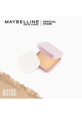 Beige color Face . Clear Smooth All In One Powder Foundation Refill - 05 Sand Beige by Maybelline -