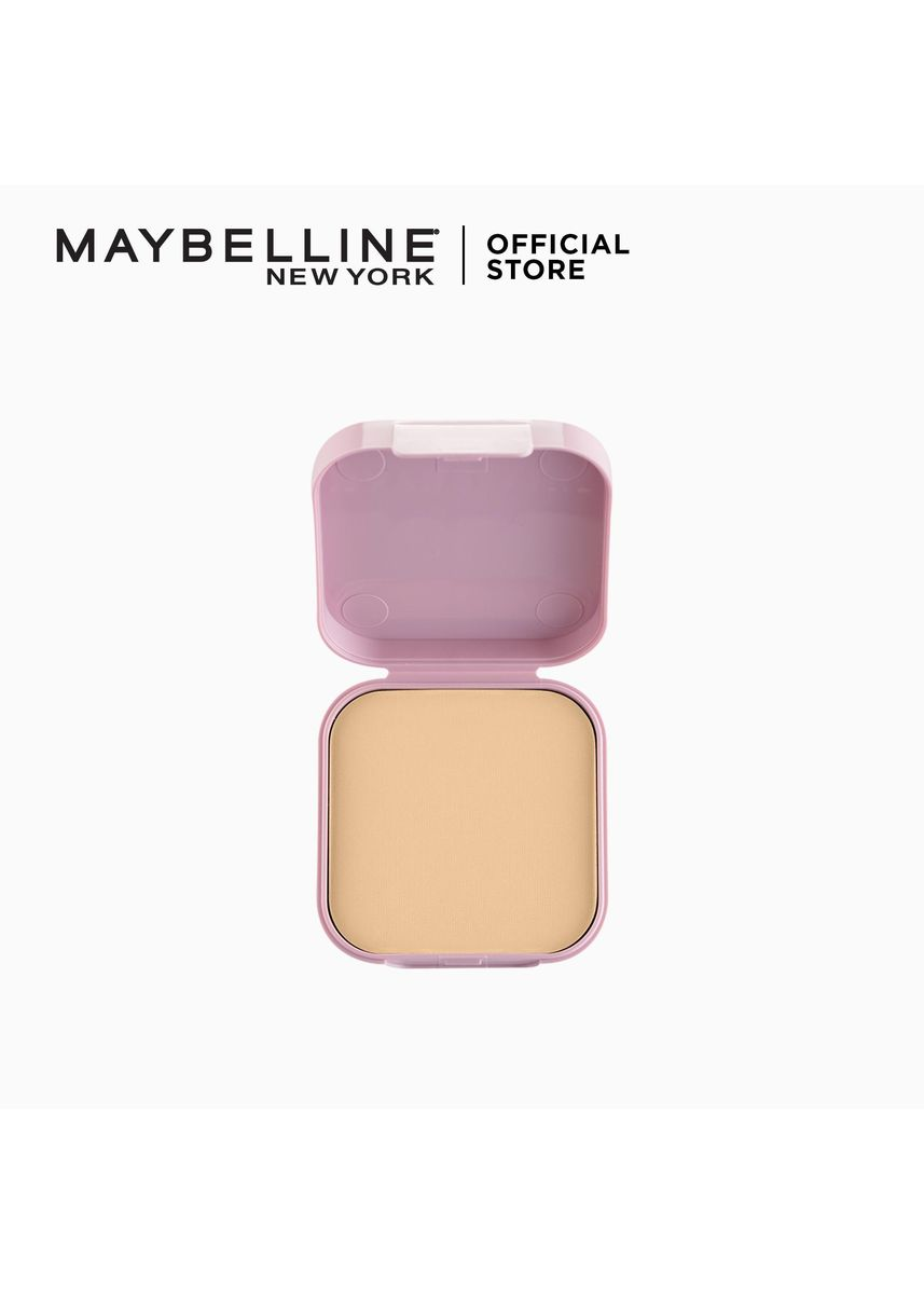 Beige color Face . Clear Smooth All In One Powder Foundation Refill - 03 Natural by Maybelline -