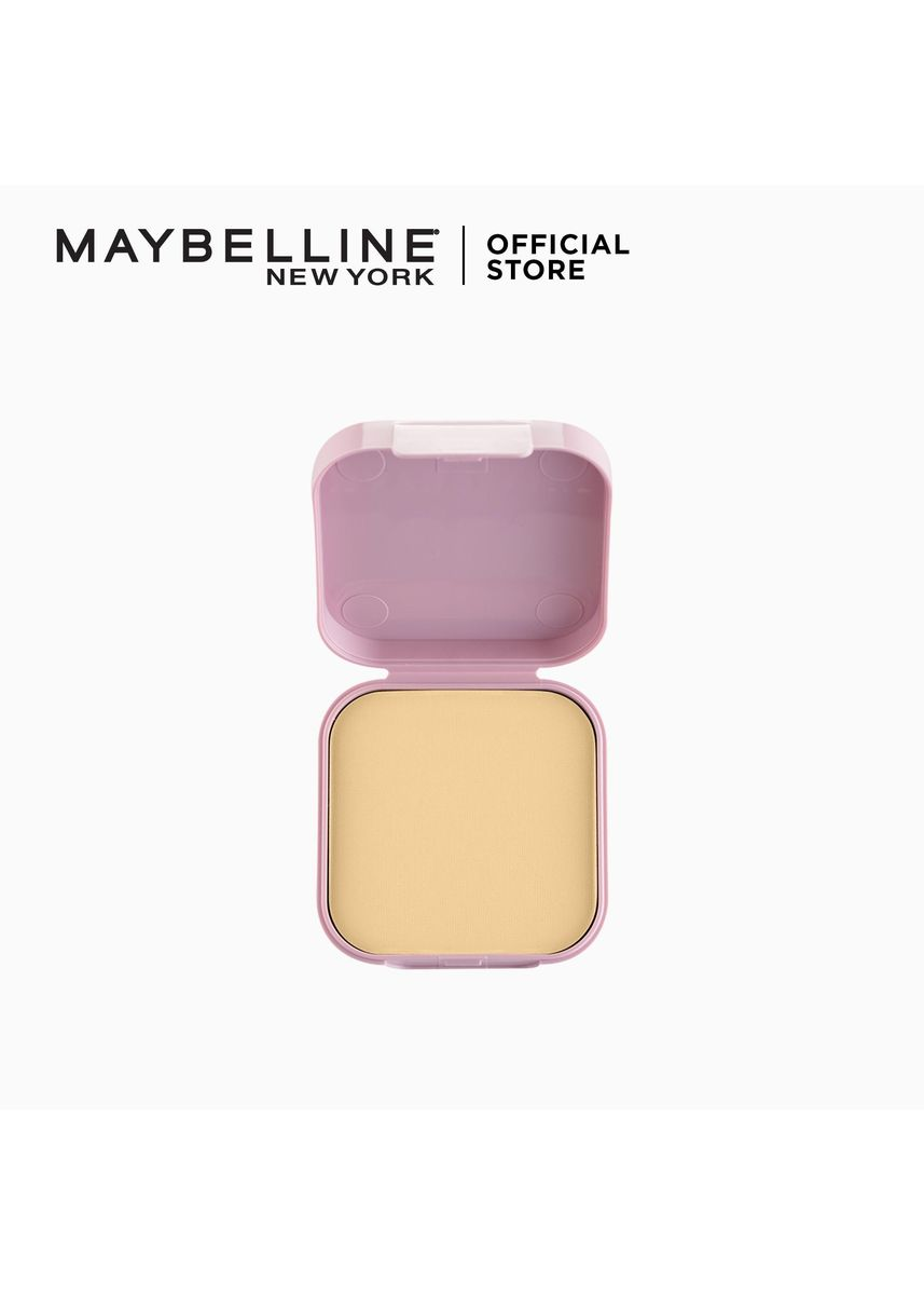 Beige color Face . Clear Smooth All In One Powder Foundation Refill - 02 Nude Beige by Maybelline -