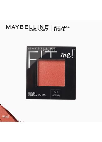 Face . Fit Me All-Day Natural Lightweight Blush by Maybelline(Wine) -