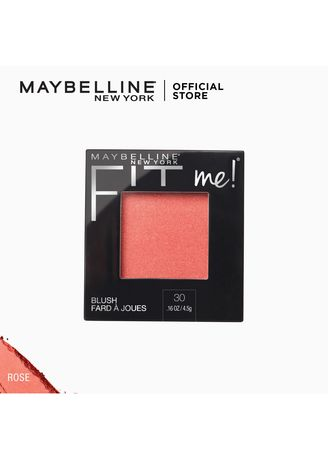 Face . Fit Me All-Day Natural Lightweight Blush by Maybelline(Rose) -