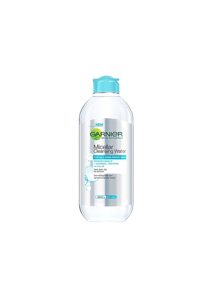 Blue color Other . Garnier Pure Active Micellar Cleansing Water 400mL [Oily, Acne-Prone Skin] -