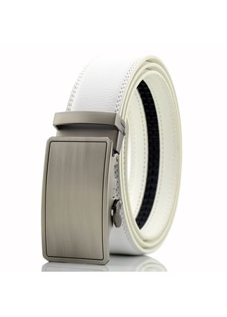 Belts . Contracted And Fashionable Men's Belt Cowhide Automatically Male -