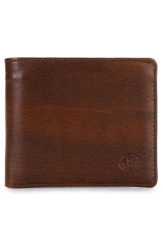 Brown color Wallets . Dompet Pria Bracini Gerry Coklat Tua -