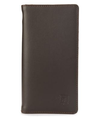 Brown color Wallets . Dompet Pria Bracini Avenue Coklat -