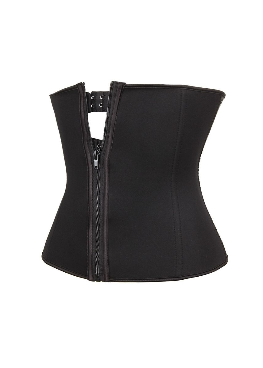 Black color Corsets . Women Fitness speed wicking Tummy Corset -