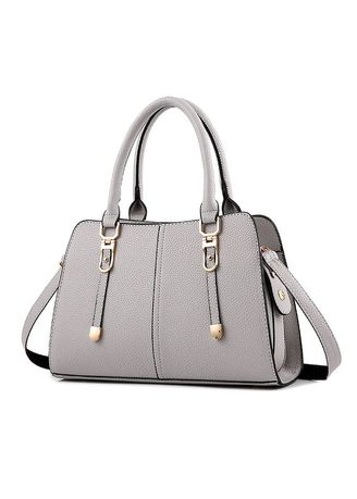 Light Grey color Hand Bags . Fashion Simple Shoulder Bag Messenger Ladies Handbags Wild -