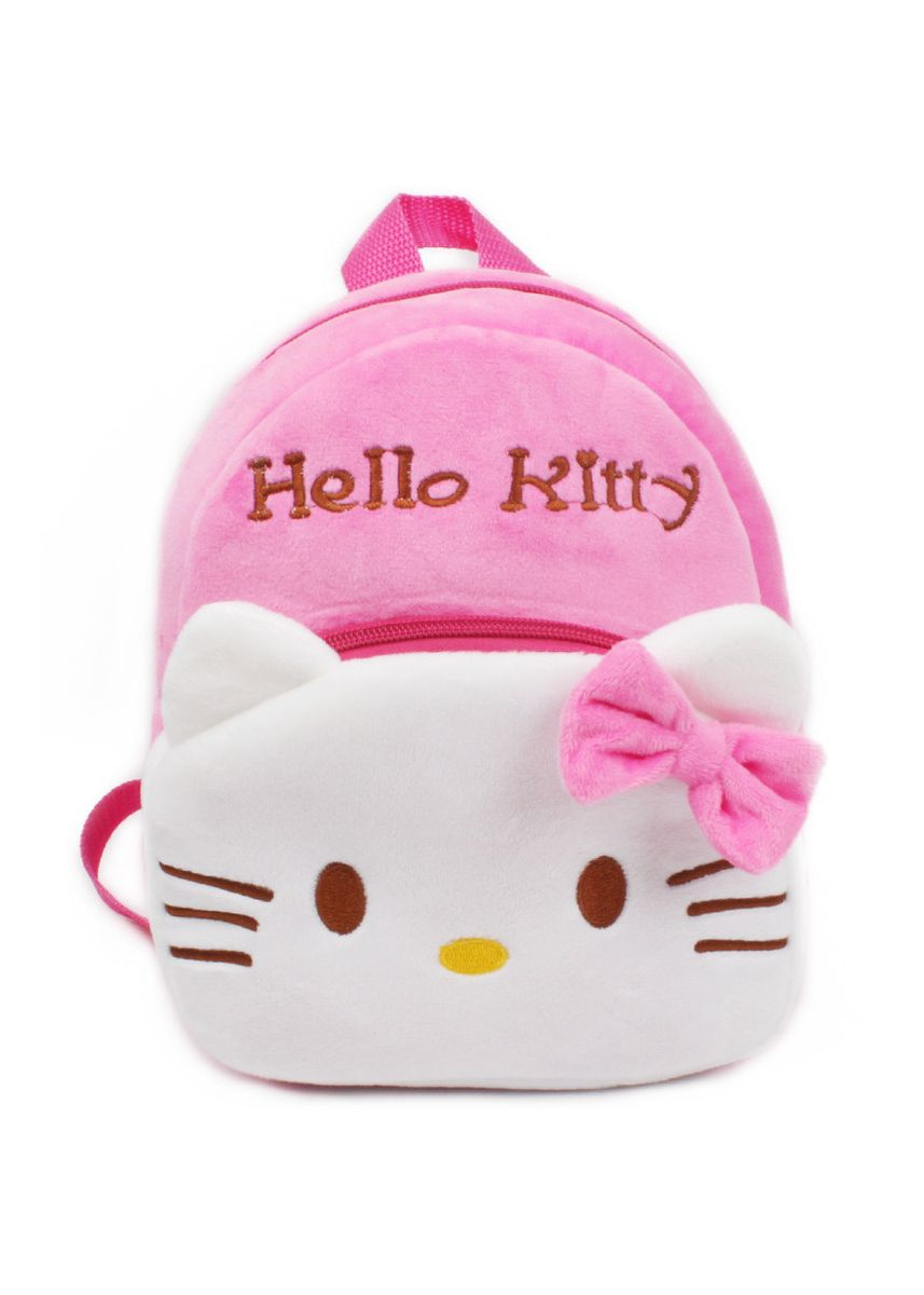 White color Bags . New Children's Small School Bag 1-2 Years Old Baby Backpack Plush Toy -