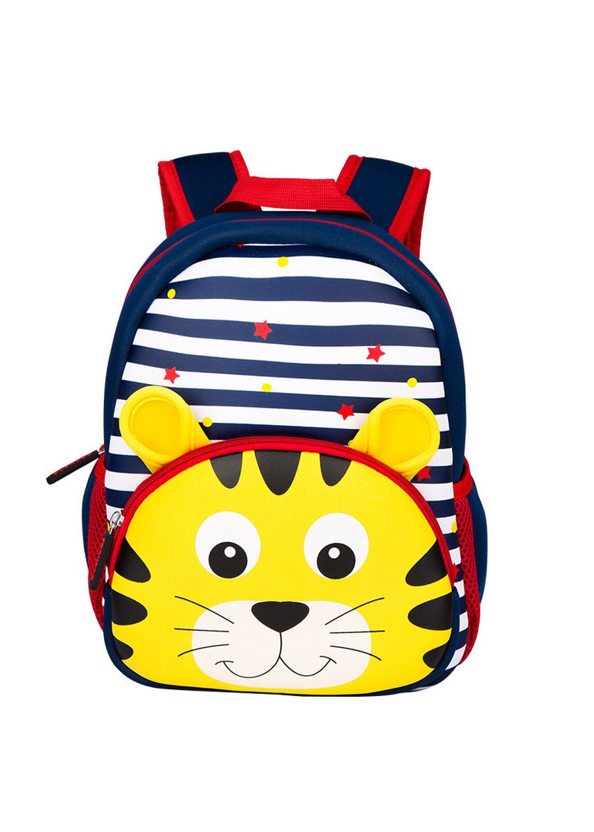 Navy color Bags . Tong Chang Brand Zoo Cartoon School Bag Children Diving Material -