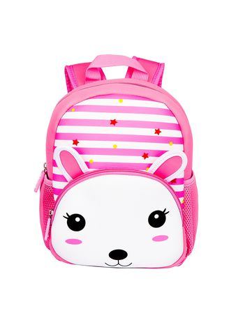 Pink color Bags . Tong Chang Brand Zoo Cartoon School Bag Children Diving Material -