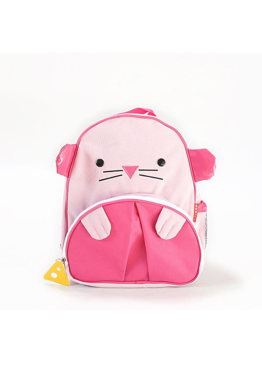 Pink color Bags . Children's Backpack Mini Cartoon Pattern -