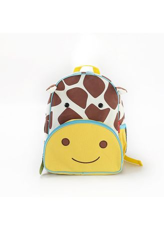 Yellow color Bags . Children's Backpack Mini Cartoon Pattern -