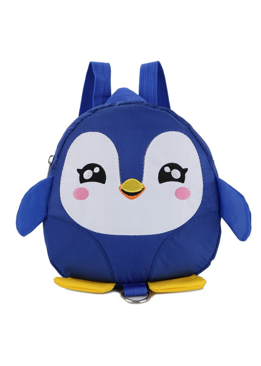 Blue color Bags . Cartoon Penguin Schoolbag Cute Lost 1-3 Old Baby Backpack Children's -