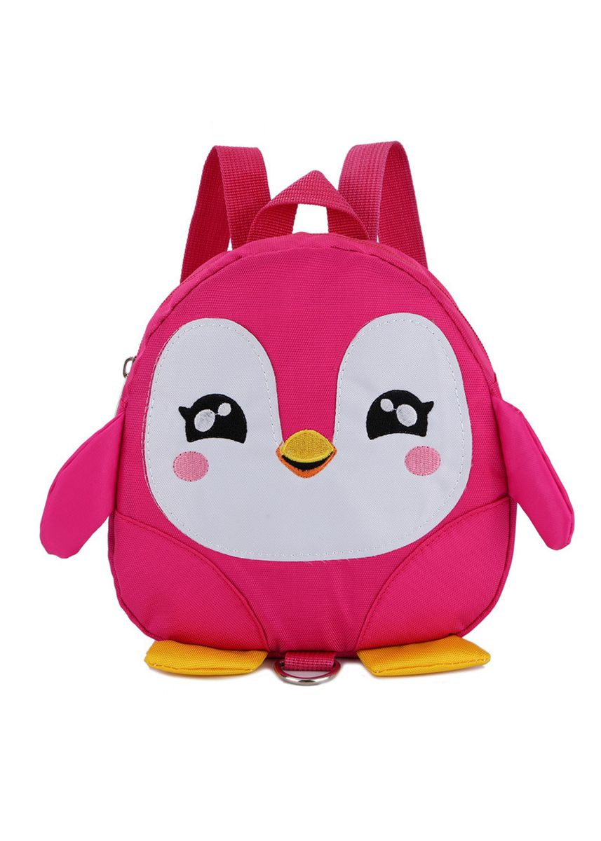Pink color Bags . Cartoon Penguin Schoolbag Cute Lost 1-3 Old Baby Backpack Children's -