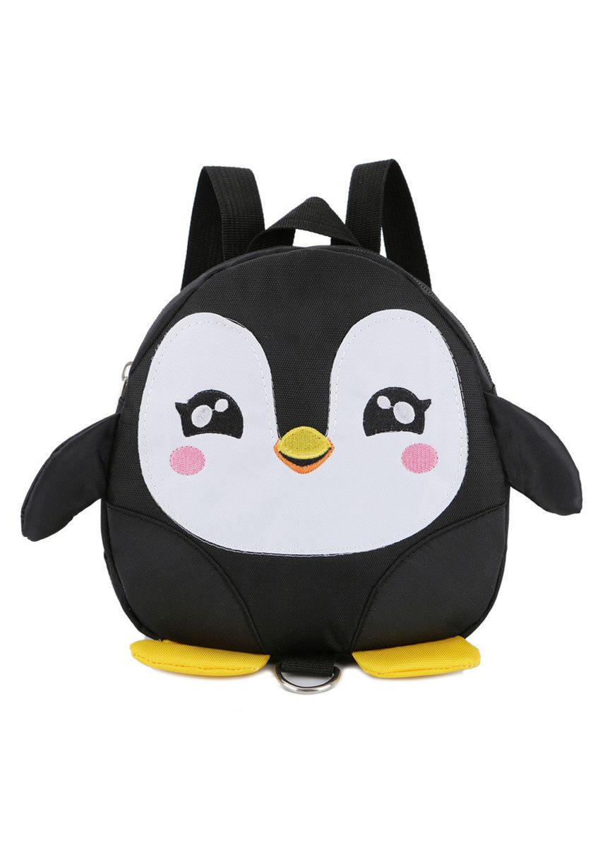Black color Bags . Cartoon Penguin Schoolbag Cute Lost 1-3 Old Baby Backpack Children's -