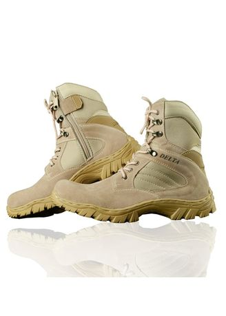 Beige color Boots . Sepatu Boots Delta Tactical Safety -