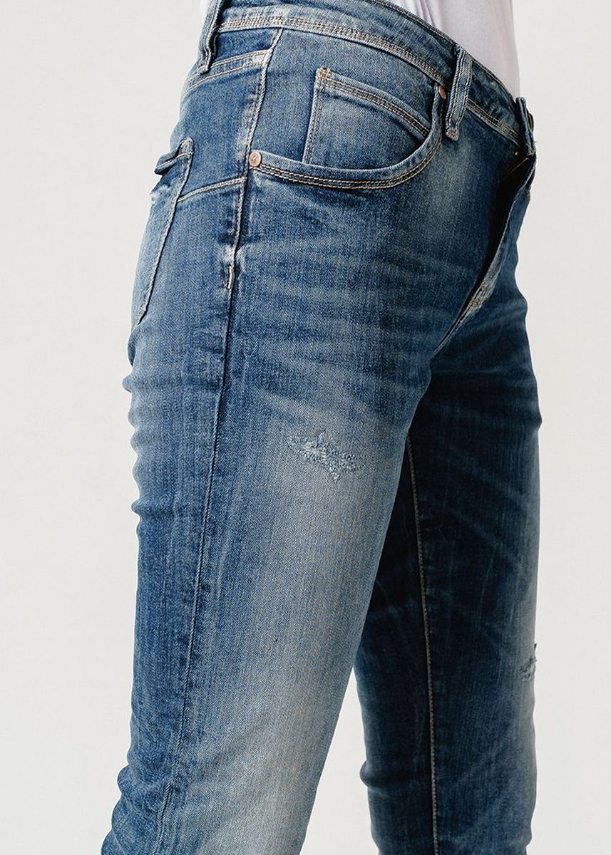 Biru color Celana Jeans . Greenlight Women Denim Pants 050219 -