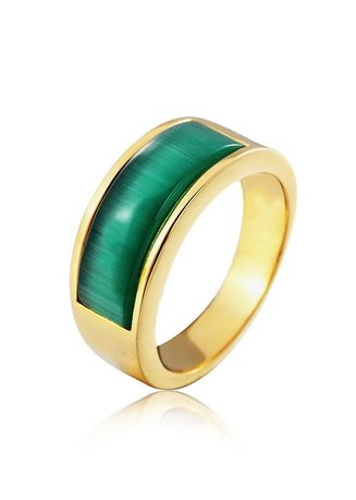 Rings . Fashion Gold Men's Ring -