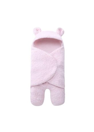 ชมพู color ชุดนอน . Newborn Sleeping Wrap Swaddle  -
