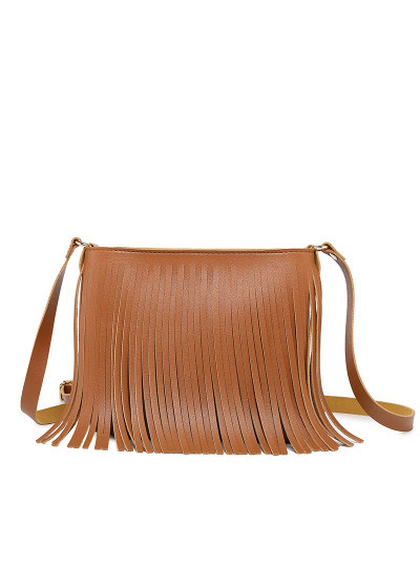 Brown color Sling Bags . A Simple Single Shoulder Bag with Korean Fashion -