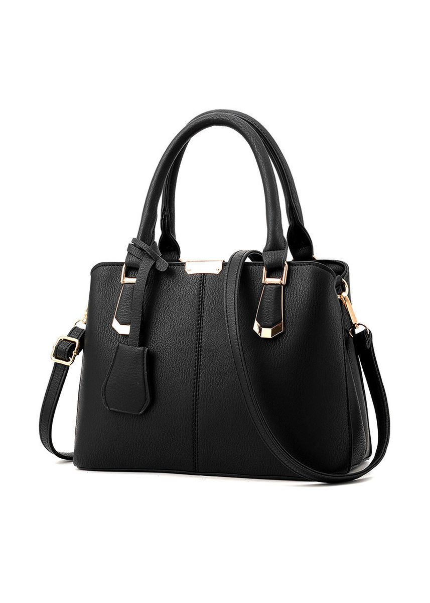 Black color Hand Bags . Mother's Day Gift Bag Female Fashion Atmosphere Middle-aged -