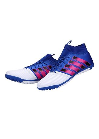 Multi color Sports Shoes . Football Training Shoes -