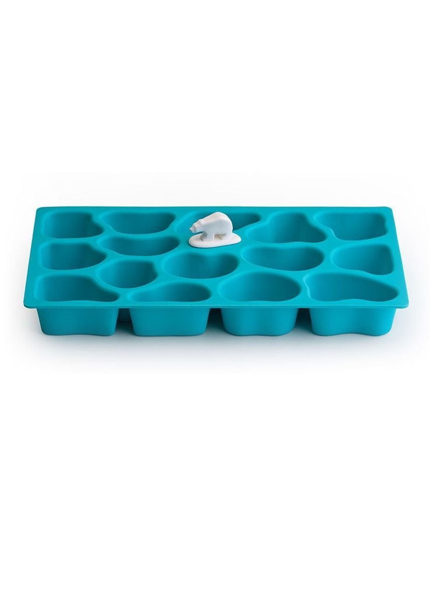 Blue color Kitchen . Qualy Polar Ice Tray (Day Ocean) -