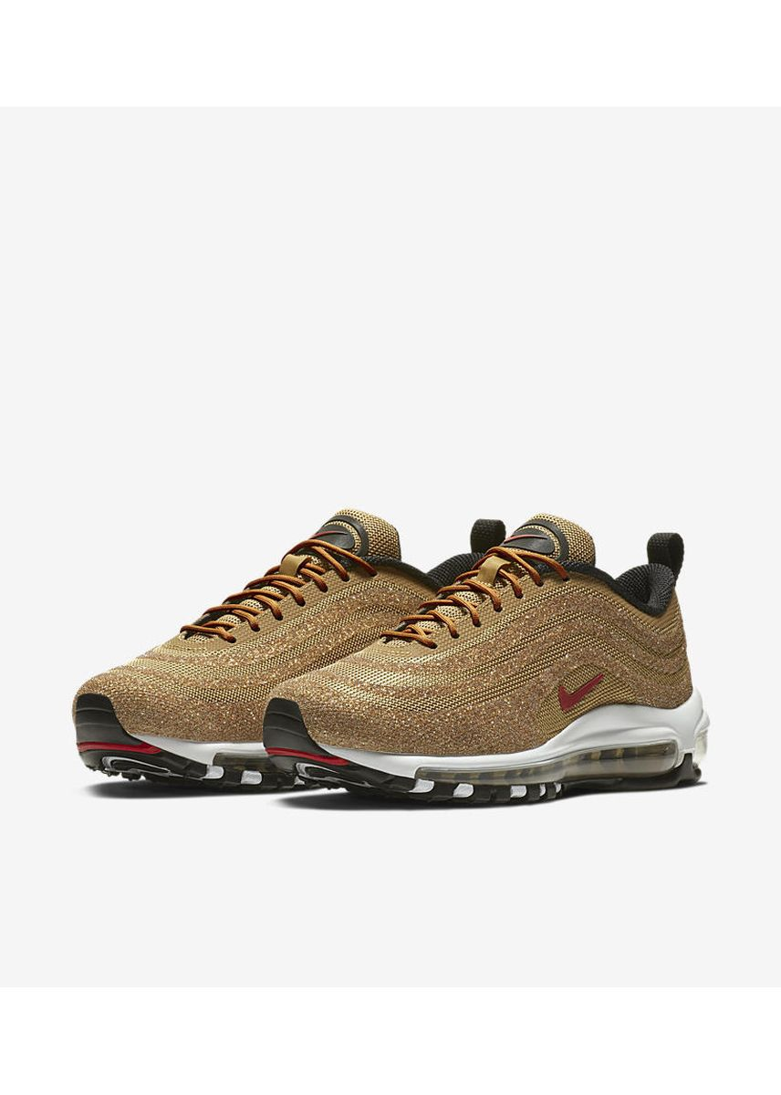 Gold color Casual Shoes . Nike Air Max 97 Swarovski Crystal Gold (W) -