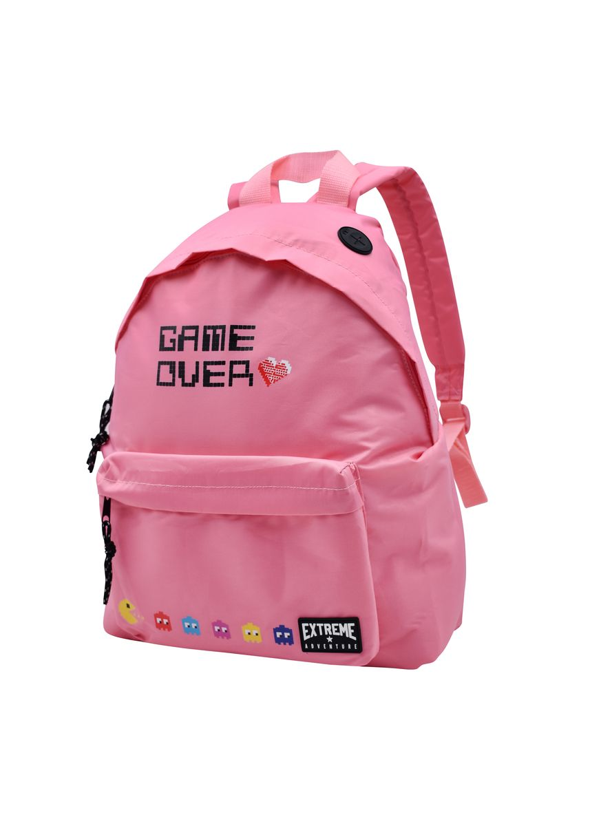 Pink color Backpacks . Everyday Deal Printed School Backpack With Pencil Case -